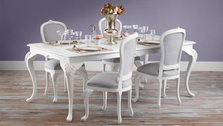 Beaulieu French Dining Table and Chairs