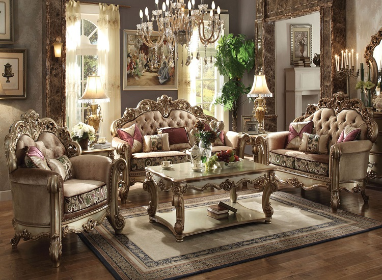 French Furniture styles in a Room